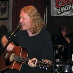 Dan Sheehan performing with Randy Jackson (Zebra)